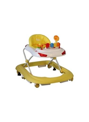BabyHope Bebek Tobby 218 Yürüteç Sarı